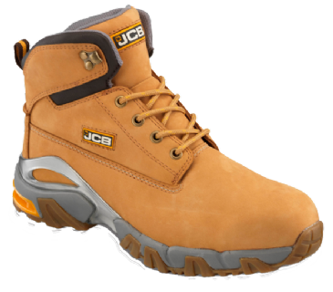 JCB Honey Nubuck Waterproof Boot with Steel Midsole 4X4/H